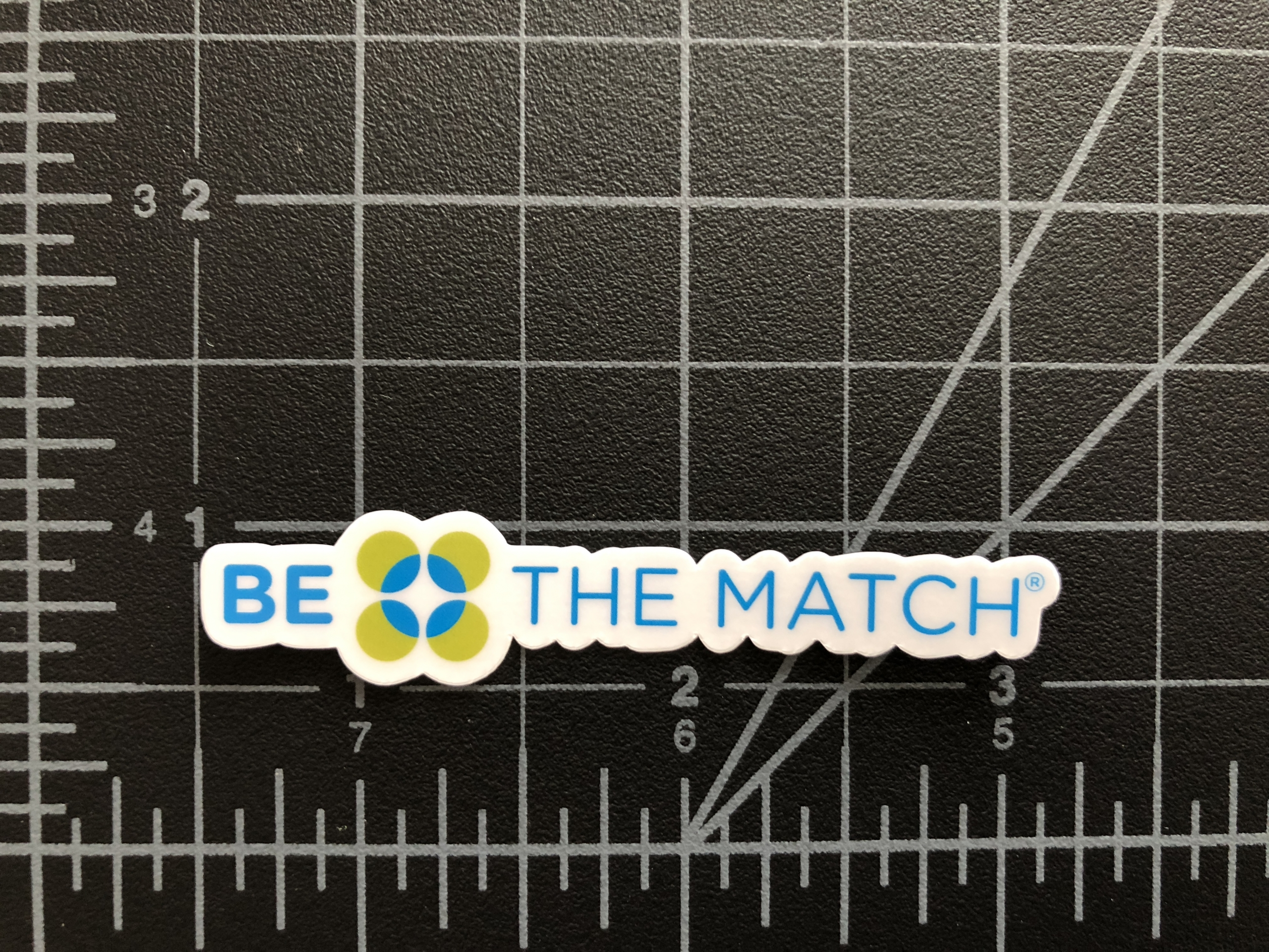 Be The Match - Sponsor Stickers