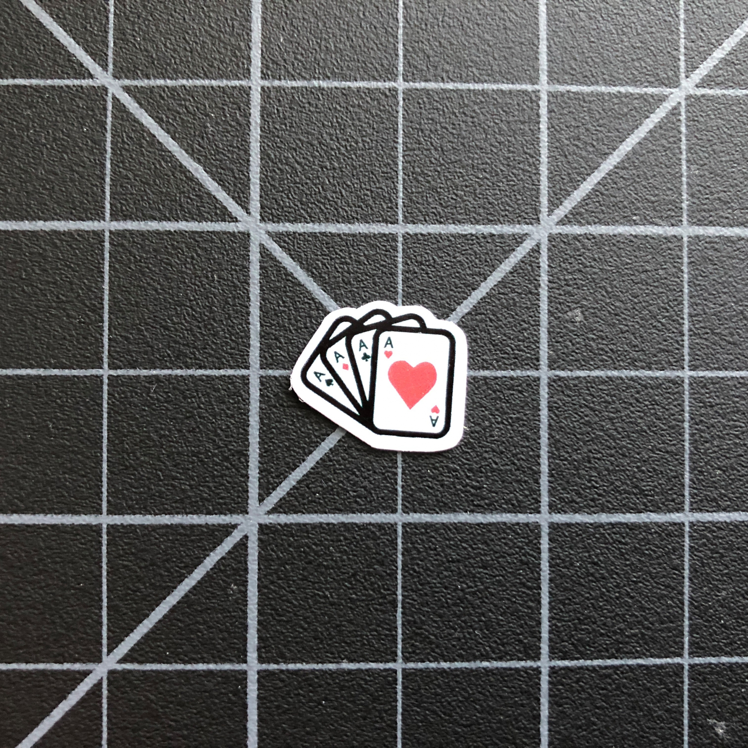 4 Aces - Ace of Hearts Sticker - RC Stickers RC SWAG Custom Stickers