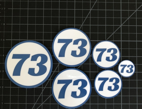 Number Stickers – Custom Number Stickers
