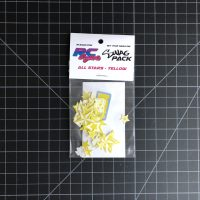 YELLOW ALL Stars Stickers SWAG Pack by RC SWAG Custom Stickers - RC Stickers