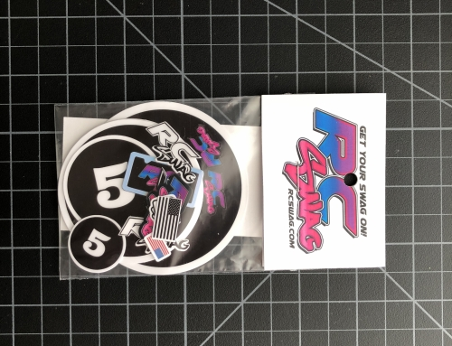 RC Number Sticker Decals