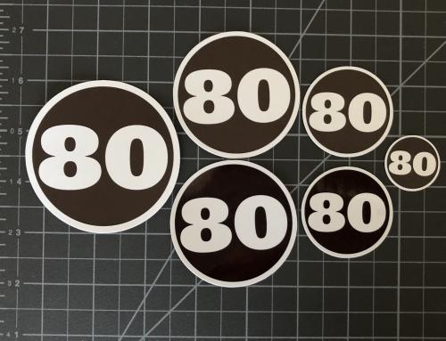 Number Sticker SWAG Packs