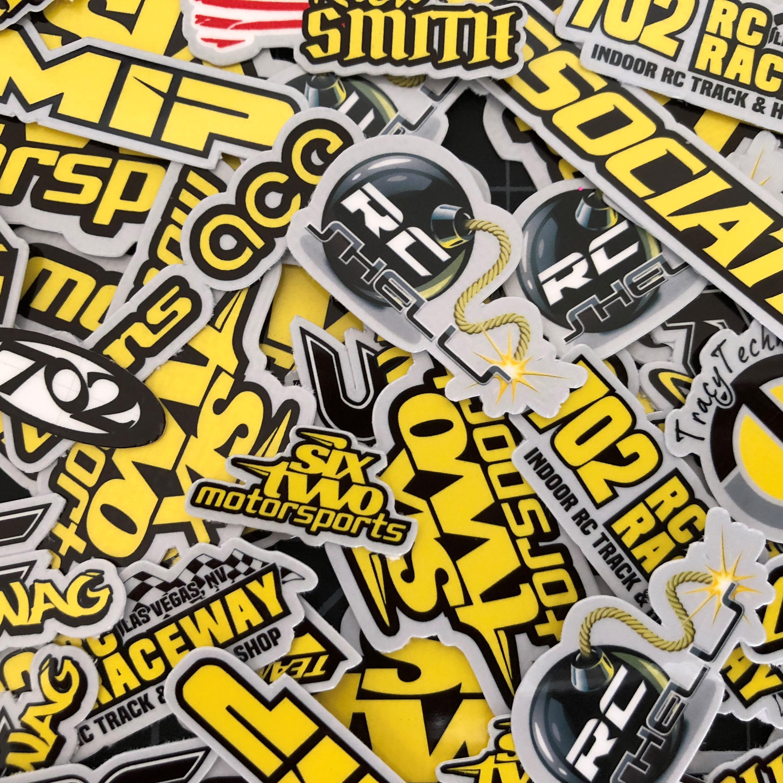 RC Stickers - Custom Stickers - Sponsor Stickers - RCSWAG.com
