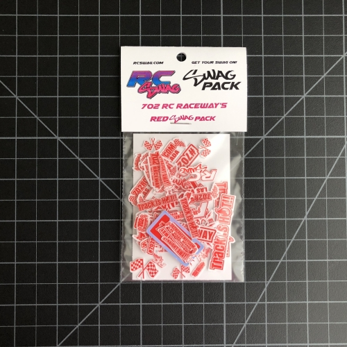 702 RC Raceway - Red SWAG Pack