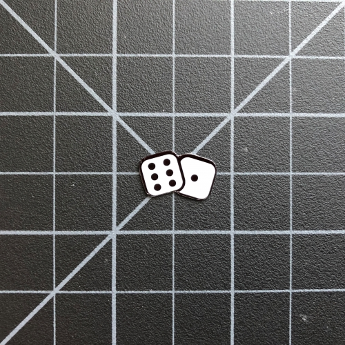 Lucky Dice Sticker - RC Stickers RC SWAG Las Vegas Stickers