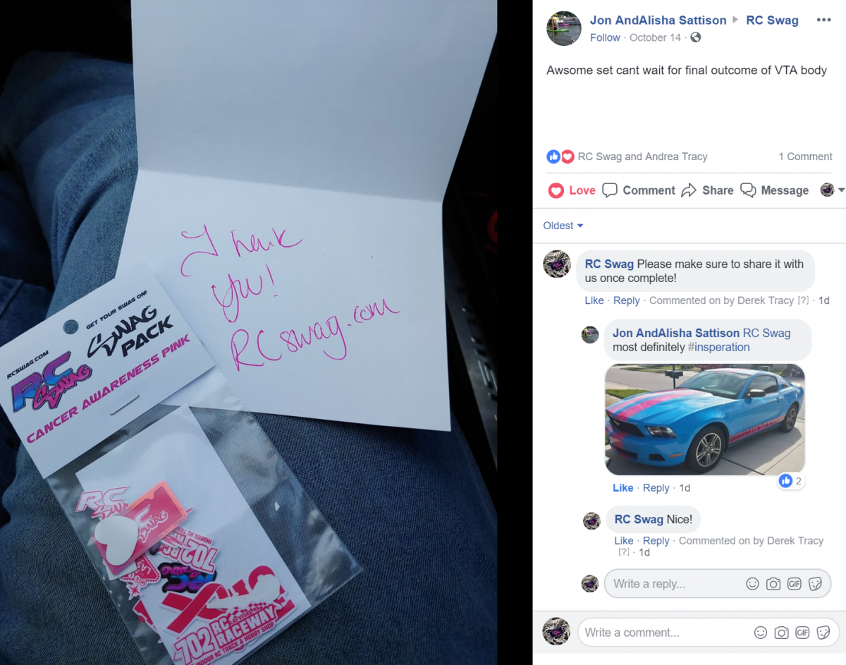 RC SWAG - Get Your SWAG on - Custom Stickers