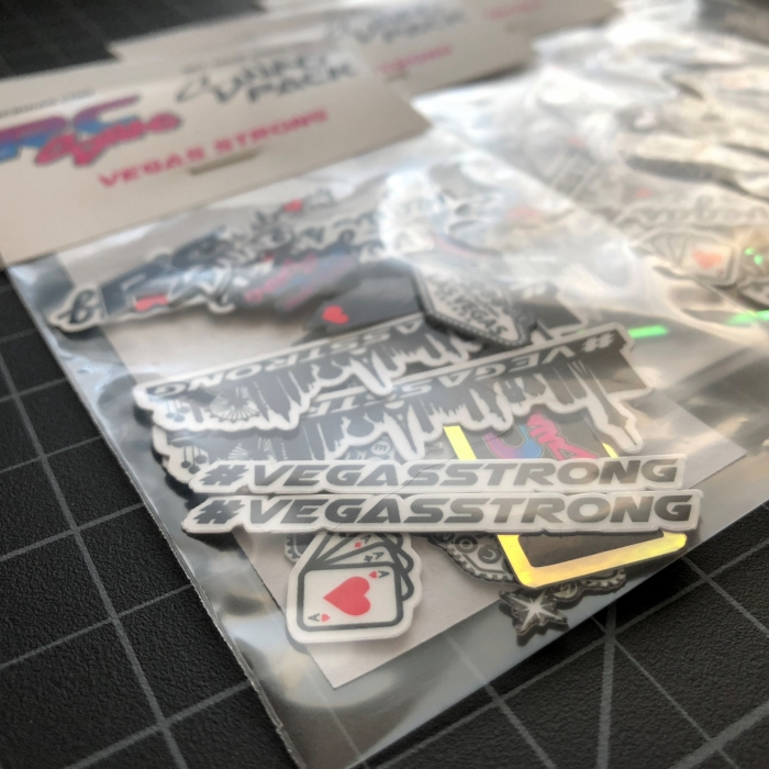 Vegas Strong Sticker SWAG PACK - RC SWAG - Las Vegas Sticker Company