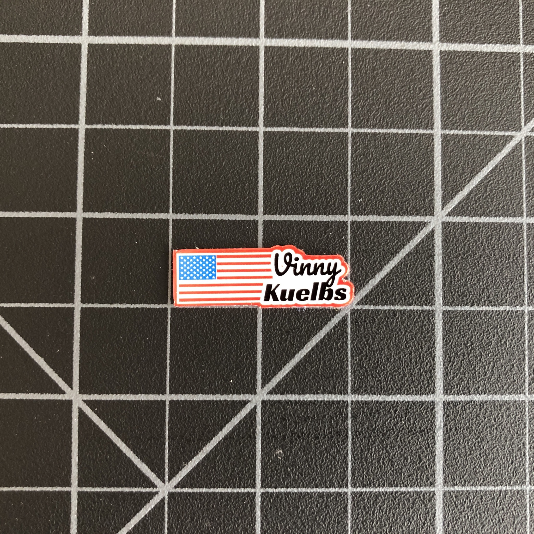 ebf1093e99e8 Custom Name Stickers w  US Flag - RC SWAG - Stickers