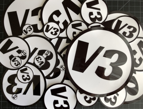 Number Stickers from .5 to 6 Inches – Custom Stickers