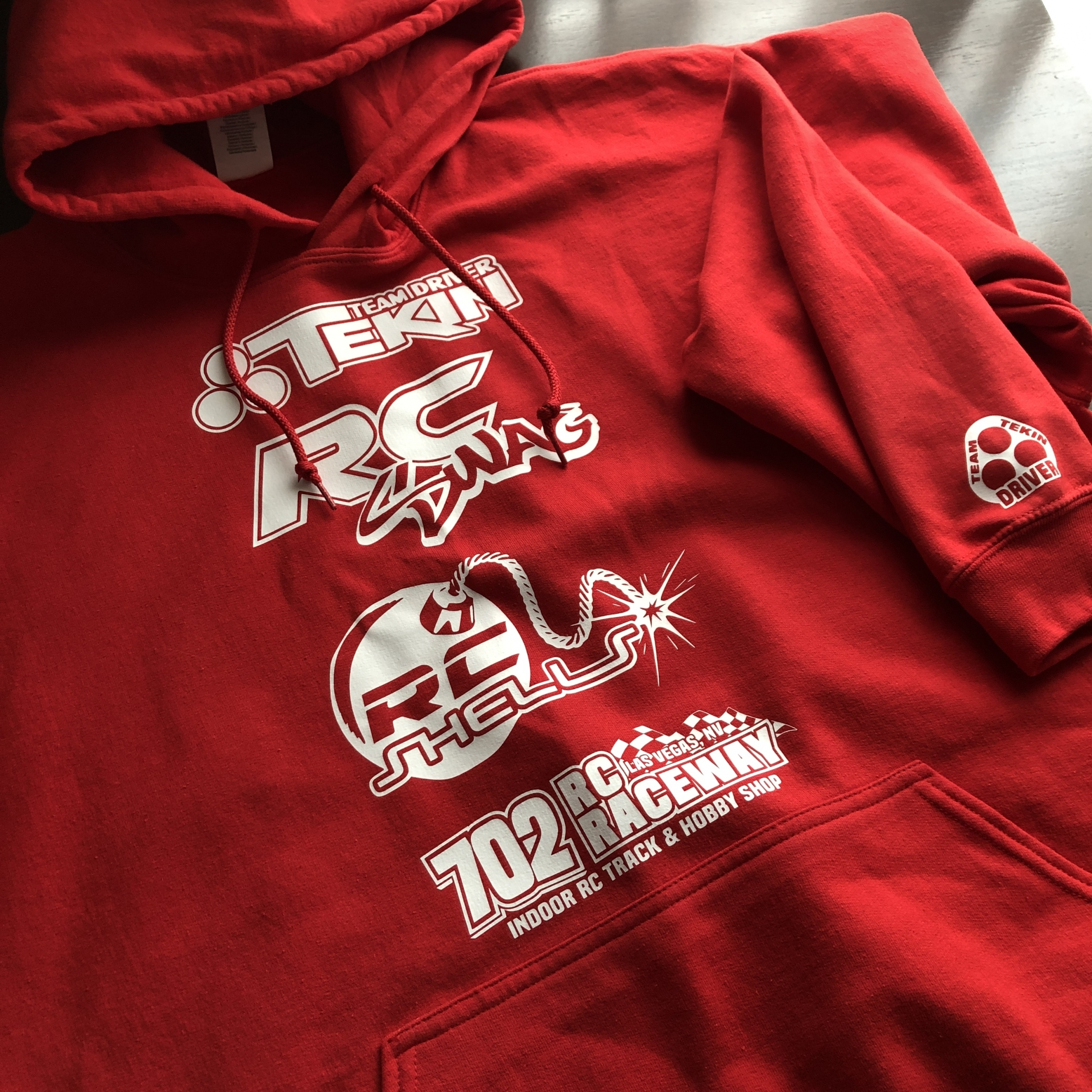 RC Sponsor Hoodies Hoodies by RC SWAG