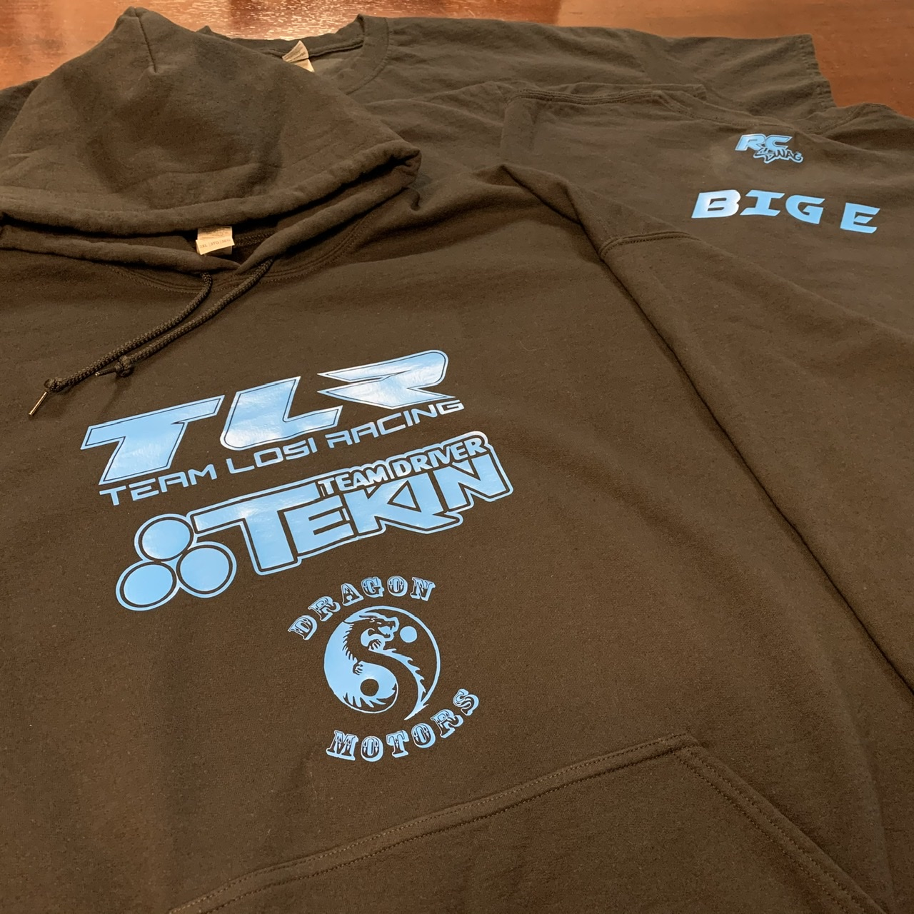 TLR, Tekin & Dragon Motors - RC Sponsor Shirts & Hoodies by RCSWAG