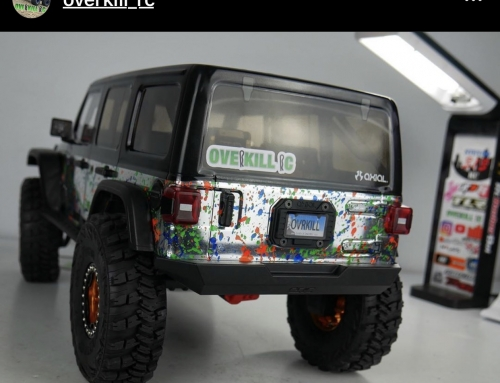 RC License Plates – Custom Scale Details