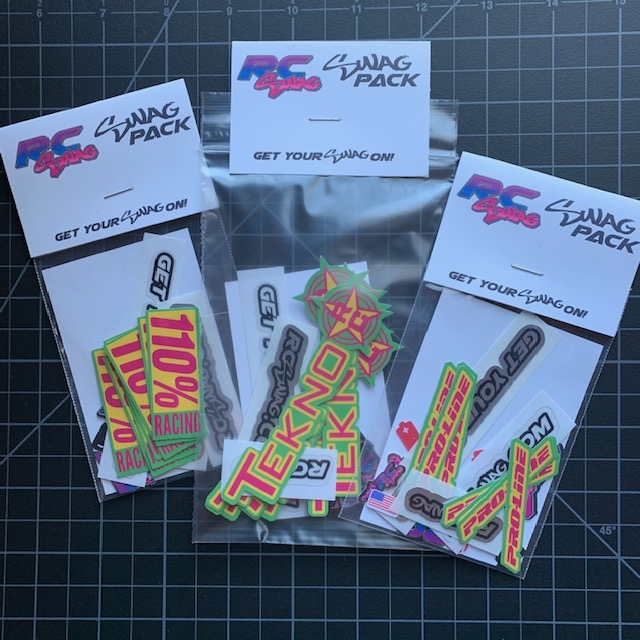 Custom Color RC Sponsor Stickers by RC SWAG