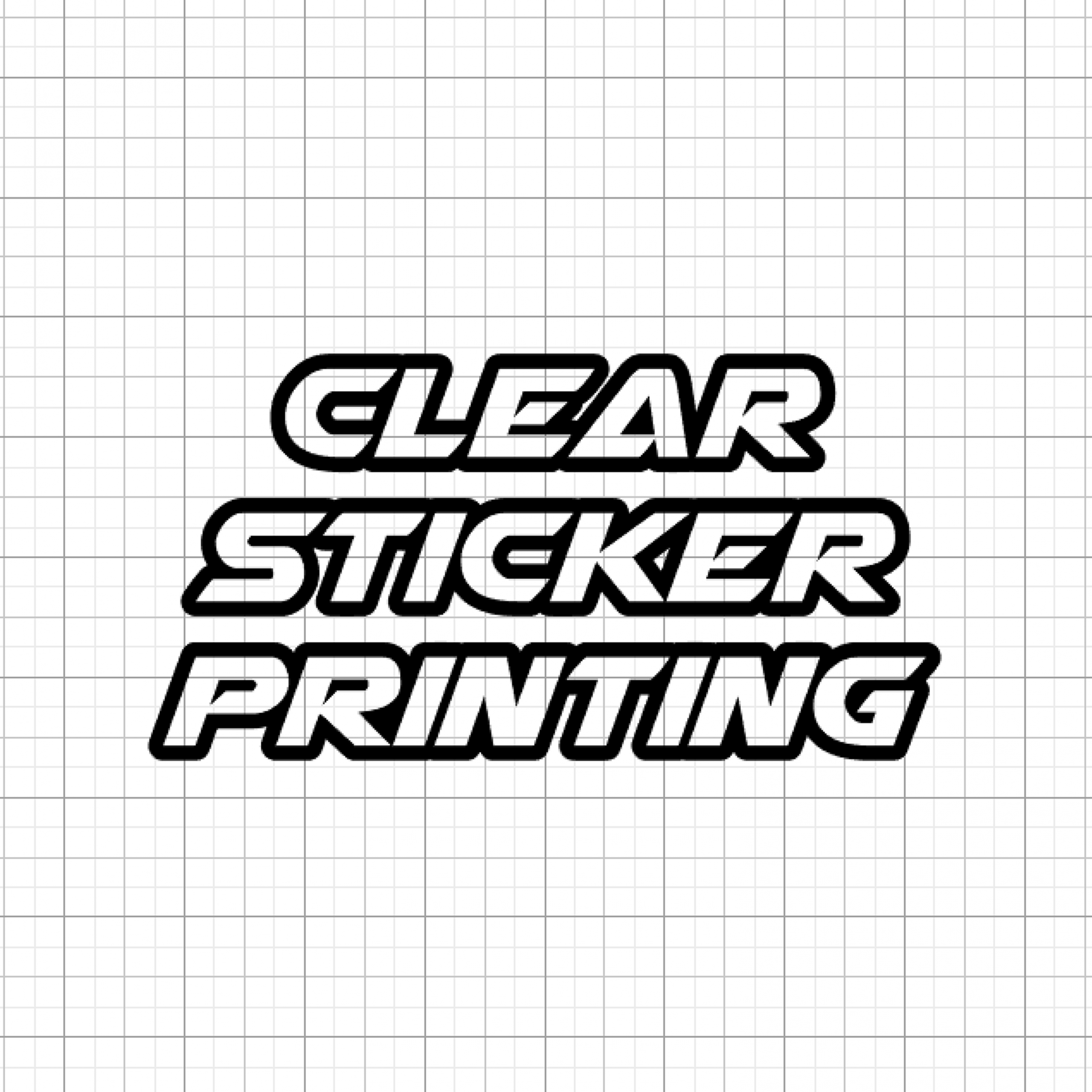 Clear Sticker Printing, Clear Stickers