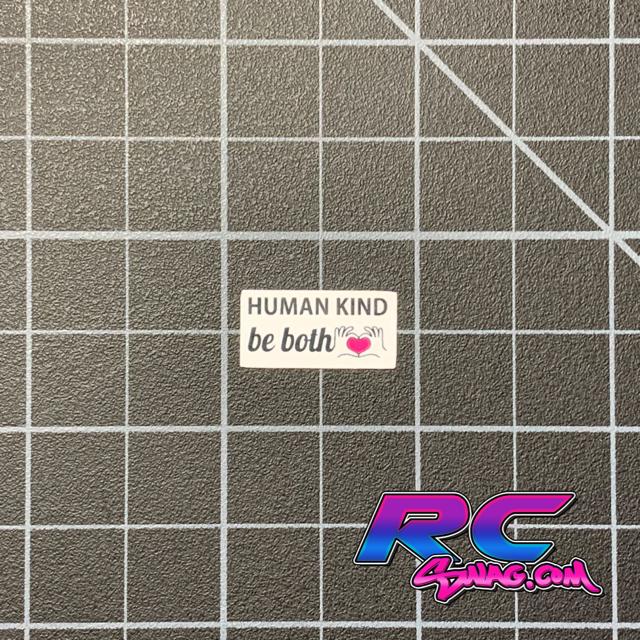 RC Bumper Sticker, Scale Bumper Stickers