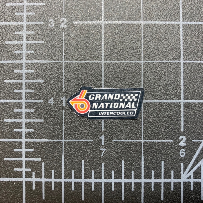 Grand National Intercooled Decal Sticker