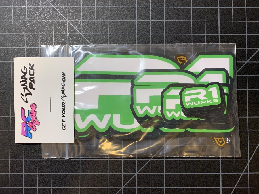 RC Sponsor Stickers, RC Stickers, RC SWAG