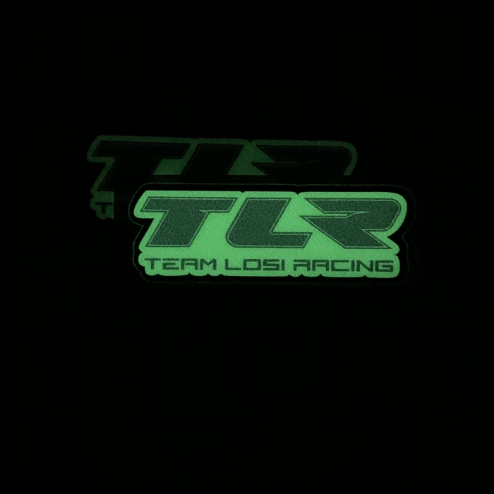 GLOW in the DARK RC Sponsor Stickers by RC SWAG