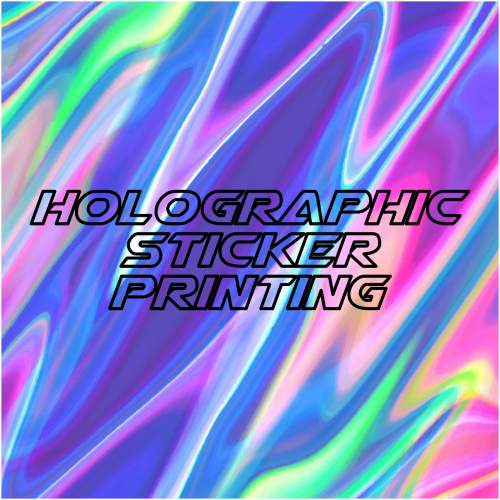 holographic rc stickers