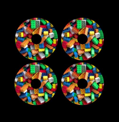 mini wheel stickers block