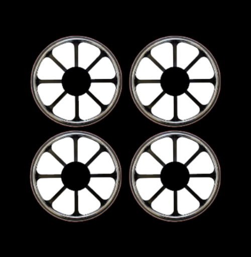 mini wheel stickers eight spoke