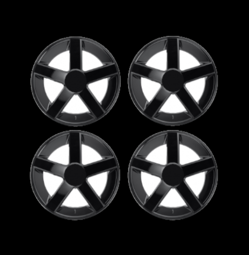 mini wheel stickers five spoke