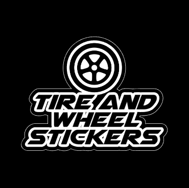 Tire and Wheel Stickers