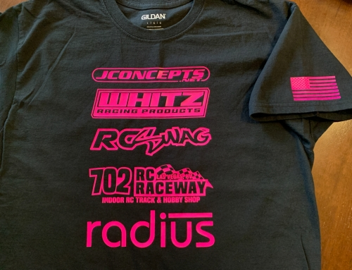 Custom RC Sponsor T-Shirts!