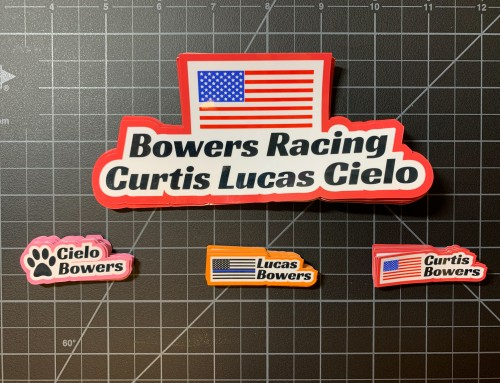 RC Name Stickers