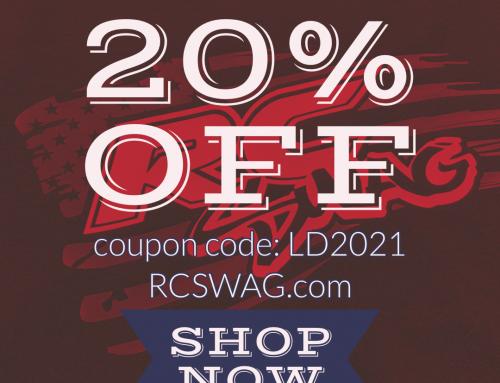 Labor Day Sale – 20% Off Stickers & Apparel