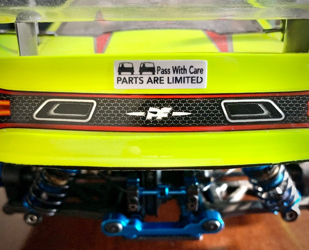 RC SWAG Custom RC Bumper Stickers