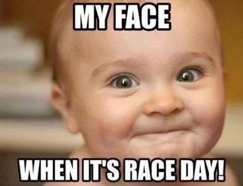 Race day!